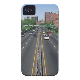 USA, Massachusetts, Boston, traffic on Storrow iPhone 4 Cover