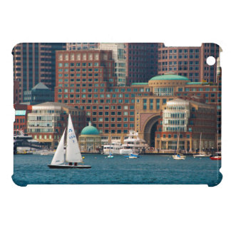 USA, Massachusetts. Boston Waterfront Skyline 2 iPad Mini Cases