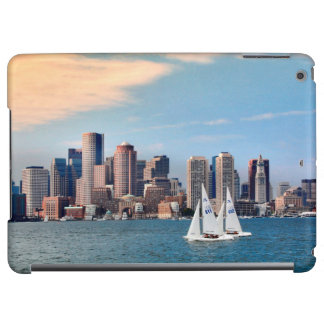 USA, Massachusetts. Boston Waterfront Skyline 3 Cover For iPad Air