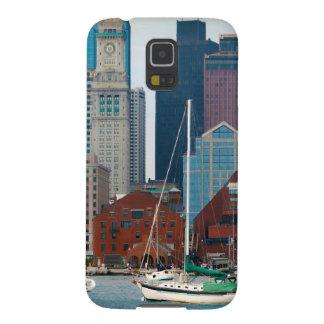 USA, Massachusetts. Boston Waterfront Skyline Case For Galaxy S5