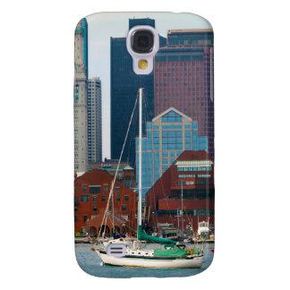USA, Massachusetts. Boston Waterfront Skyline Galaxy S4 Case
