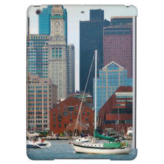 USA, Massachusetts. Boston Waterfront Skyline iPad Air Case