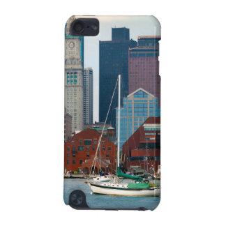 USA, Massachusetts. Boston Waterfront Skyline iPod Touch 5G Cover