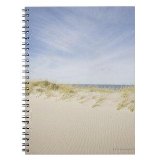 USA, Massachusetts, Cape Cod, Nantucket, sandy Notebook
