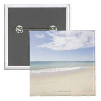 USA, Massachusetts, Empty beach 2 2 Inch Square Button