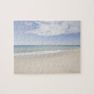 USA, Massachusetts, Empty beach 2 Jigsaw Puzzle