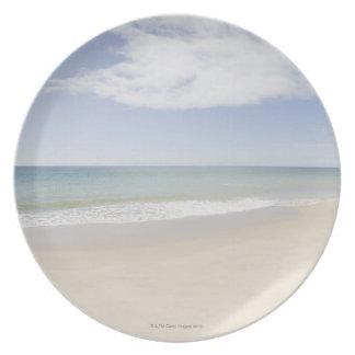 USA, Massachusetts, Empty beach 2 Plate