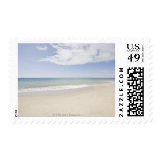 USA, Massachusetts, Empty beach 2 Postage Stamp