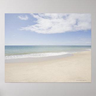 USA Massachusetts Empty beach 2 Poster