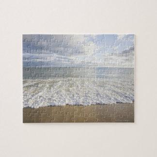 USA, Massachusetts, Empty beach Jigsaw Puzzle
