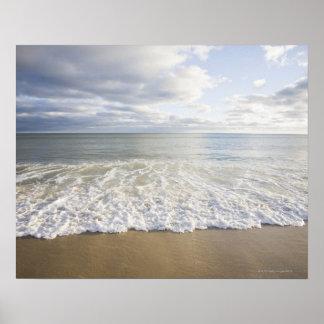 USA Massachusetts Empty beach Poster