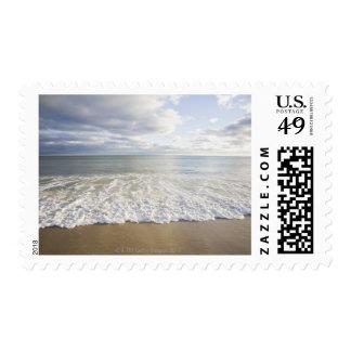 USA, Massachusetts, Empty beach Stamp