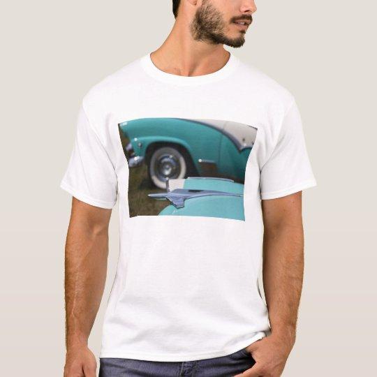 USA, Massachusetts, Gloucester. 1950s-era Ford T-Shirt