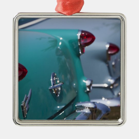 USA, Massachusetts, Gloucester. 1950s-era Metal Ornament