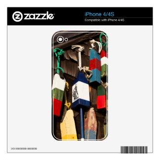 USA, Massachusetts, Gloucester, Lobster Buoys 2 iPhone 4S Skins