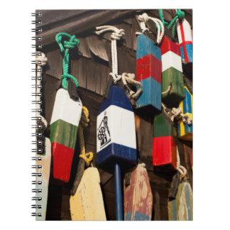 USA, Massachusetts, Gloucester, Lobster Buoys 2 Notebooks