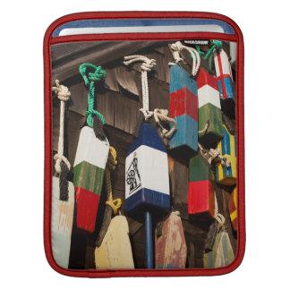USA, Massachusetts, Gloucester, Lobster Buoys 2 Sleeve For iPads