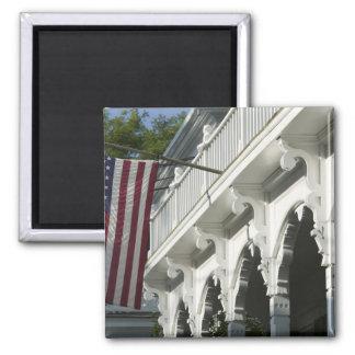 USA, MASSACHUSETTS, Martha's Vineyard: 2 Inch Square Magnet