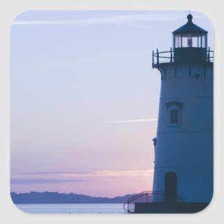 USA, MASSACHUSETTS, Martha's Vineyard: 2 Square Sticker