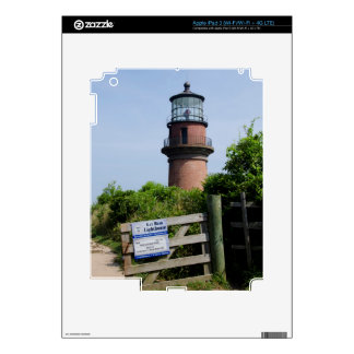 USA, Massachusetts, Martha's Vineyard, Aquinnah. iPad 3 Decal