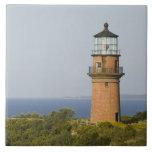 "USA, MASSACHUSETTS, Martha&#39;s Vineyard: Aquinnah Tile<br><div class=""desc"">COPYRIGHT Walter Bibikow / DanitaDelimont.com | US22 WBI0278.jpg | USA,  MASSACHUSETTS,  Martha&#39;s Vineyard: Aquinnah / Gay Head,  the 1844 Gay Head Lighthouse</div>"