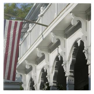 USA, MASSACHUSETTS, Martha's Vineyard: Ceramic Tile