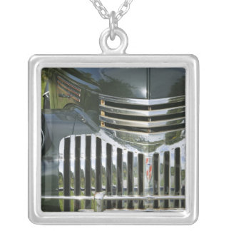 USA, MASSACHUSETTS, Martha's Vineyard: West Silver Plated Necklace