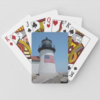 USA, Massachusetts, Nantucket. Brant Point Card Deck