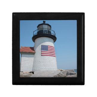 USA, Massachusetts, Nantucket. Brant Point Gift Box