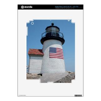 USA, Massachusetts, Nantucket. Brant Point iPad 3 Decals