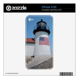 USA, Massachusetts, Nantucket. Brant Point iPhone 4S Skin