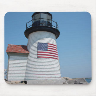 USA, Massachusetts, Nantucket. Brant Point Mouse Pad