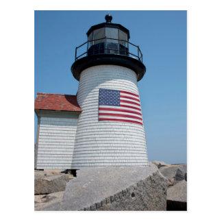 USA, Massachusetts, Nantucket. Brant Point Postcard