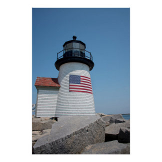 USA, Massachusetts, Nantucket. Brant Point Poster