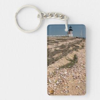USA, Massachusetts, Nantucket. Shell Keychain
