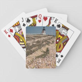 USA, Massachusetts, Nantucket. Shell Playing Cards
