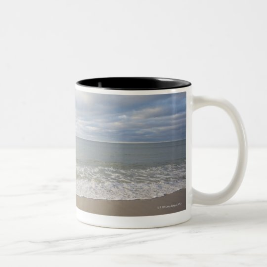 USA, Massachusetts, seascape Two-Tone Coffee Mug