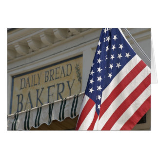 USA; Massachusetts; Stockbridge; Daily Bread Card