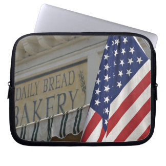 USA; Massachusetts; Stockbridge; Daily Bread Laptop Sleeve