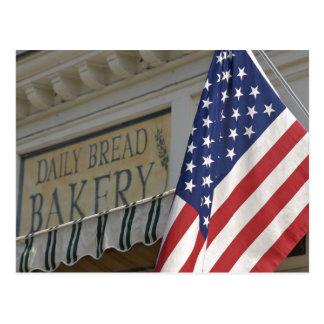 USA; Massachusetts; Stockbridge; Daily Bread Postcard