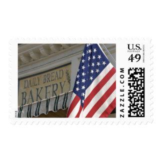 USA; Massachusetts; Stockbridge; Daily Bread Stamp