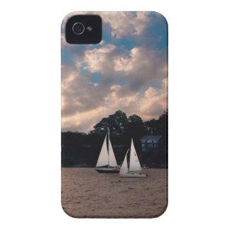 USA, Massachusetts. Sunset Sailing iPhone 4 Cover