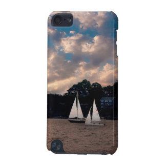 USA, Massachusetts. Sunset Sailing iPod Touch (5th Generation) Cover