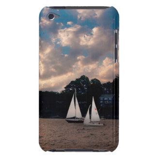 USA, Massachusetts. Sunset Sailing iPod Touch Cover