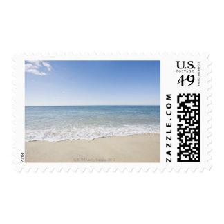 USA, Massachusetts, Waves at sandy beach 2 Stamp