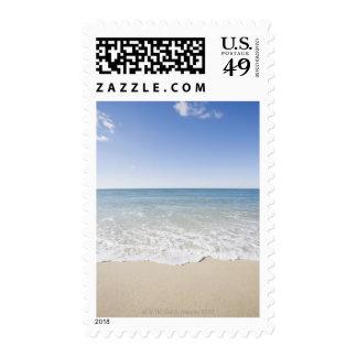 USA, Massachusetts, Waves at sandy beach Stamp
