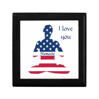 USA meditation American yoga Gift Box