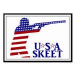 USA Mens Shooting Business Card