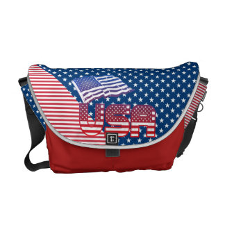 USA Messenger bags for patriotic Americans