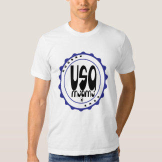 usa miami tshirt with rogers bros logo
